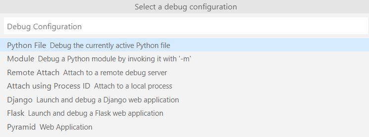 visual studio 调试python代码