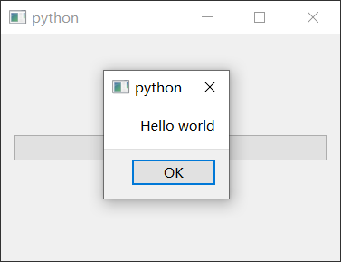 使用PySide6创建Hello World程序